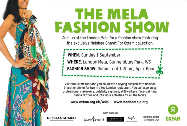 oxfam-fashion-show-lubna-rafiq-london-mela